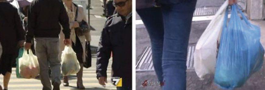 Legambiente e ADUC: confronto sugli shopper illegali su La7