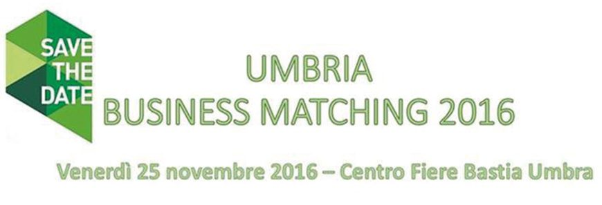Umbria Business Matching 2016