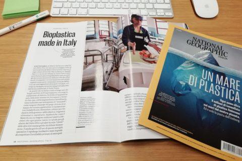 L'evoluzione della bioplastica Mater-Bi in Italia