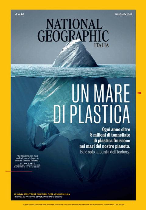 L'evoluzione della bioplastica Mater-Bi in Italia - foto giornale National Geographic