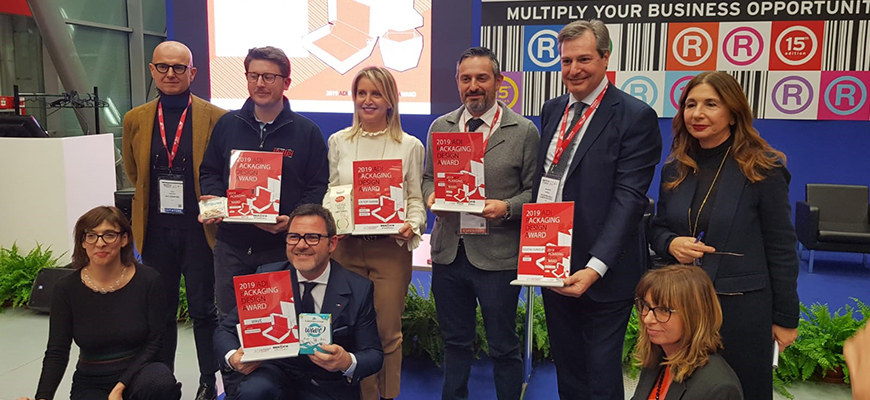 Polycart premiata alla quarta edizione dell'ADI Packaging Design Award 2019