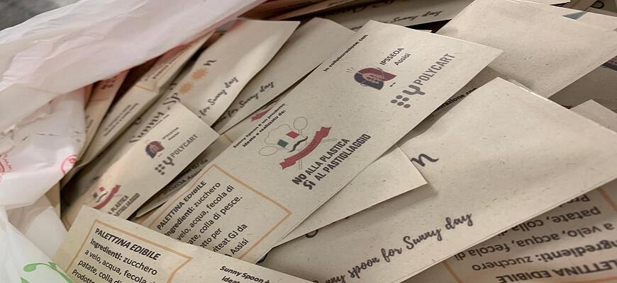 Il packaging sostenibile di Polycart per il progetto SunnySpoon