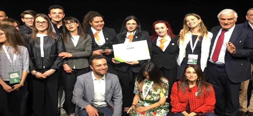 Green Jobs 2018/2019: premiato l'Istituto Alberghiero di Assisi