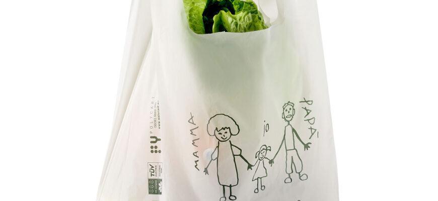 Shoppers Biodegradabili «Bio Kids» generici in Mater-Bi®