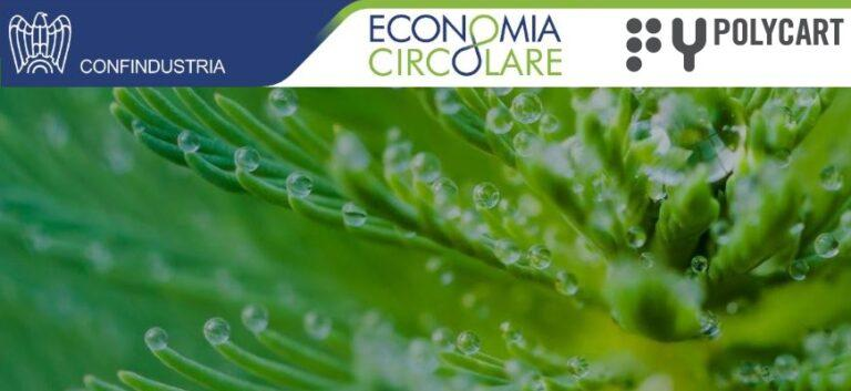 Anche Polycart tra le eccellenze dell'Economia Circolare valorizzate da Confindustria