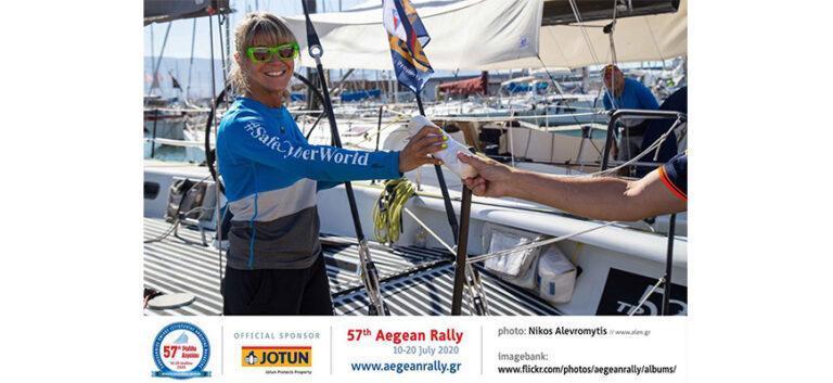 57° International Aegean Sailing Rally: sport e sostenibilità con gli shopper di Polycart