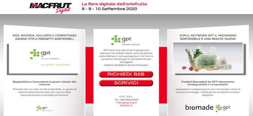Le soluzioni biodegradabili e compostabili di Polycart a Macfrut Digital 2020