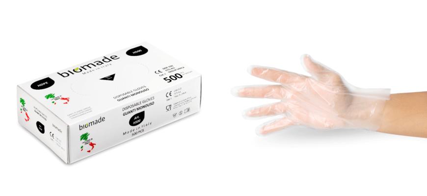 Polycart presenta i nuovi guanti monouso made in Italy