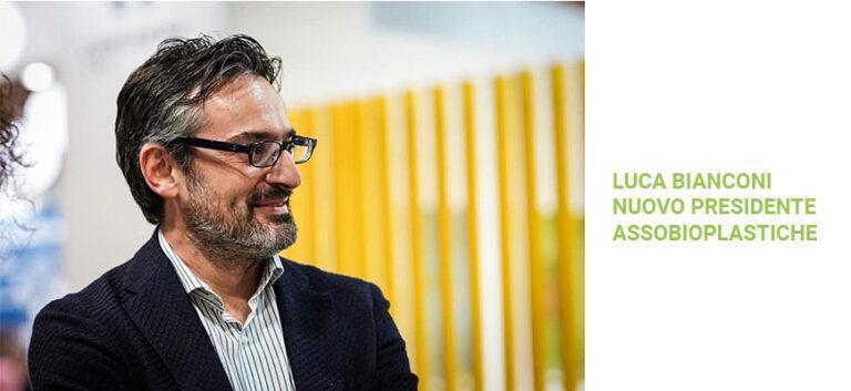 Luca Bianconi è il nuovo presidente di Assobioplastiche